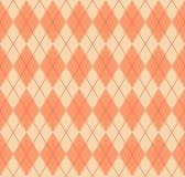 Seamless argyle pattern. Stock Photos