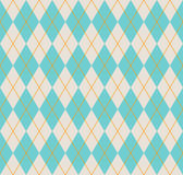 Seamless argyle pattern. Stock Image
