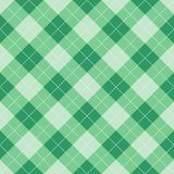 Seamless argyle plaid blue pattern. Diamond check stock illustration