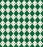 Seamless Argyle-Plaid Vector Art Pattern Royalty Free Stock Photos