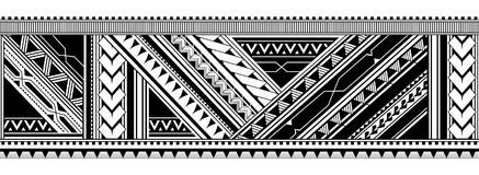 Seamless arm tattoo design Stock Image