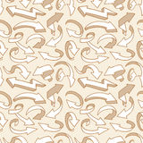 Seamless arrow pattern Royalty Free Stock Photo