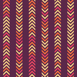 Seamless Arrow Pattern Stock Images