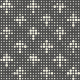 Seamless Arrow Pattern. Abstract Fashion Background. Vector Dots Texture Royalty Free Stock Photography