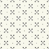 Seamless arrow pattern. Seamless pattern, arrow background design for fabric and decor Stock Illustration