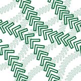 Seamless arrow pattern Royalty Free Stock Photography