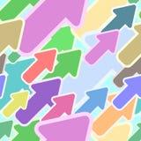 Seamless arrows pattern stock illustration