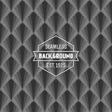 Seamless art deco background Royalty Free Stock Photos