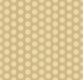 Seamless art deco outline pattern of hexagonal shapes Royalty Free Stock Image