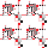 Seamless Art Deco Pattern Royalty Free Stock Images