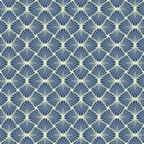 Seamless Art Deco pattern background. Wallpaper stock illustration
