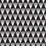 Seamless Art Deco pattern background. Wallpaper royalty free illustration