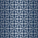 Seamless Art Deco Pattern with Silver Gradient. Seamless Art Deco pattern background wallpaper with silver gradient stock illustration