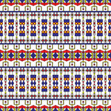 Seamless Art Deco Pattern. Seamless pattern inspired by constructivism Stock Photos