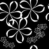 Seamless art floral pattern Stock Photo