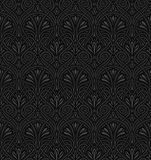 Seamless Art Nouveau pattern. Both the JPG and vector file are seamless Royalty Free Stock Images