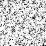 Seamless abstract pattern. Seamless artistic abstract pattern. Hand drawn repeatable creative background. Paint stain grunge design from painted texture. Black Stock Image