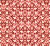 Seamless asian pattern Stock Images