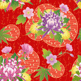 Seamless asian traditional pattern. Vector seamless asian traditional pattern Royalty Free Illustration