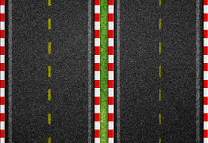 Seamless asphalt road Royalty Free Stock Image