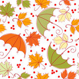 Seamless autumn background Royalty Free Stock Photos