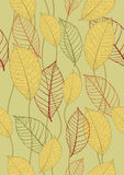 Seamless autumn background Royalty Free Stock Images