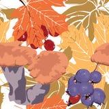 Seamless autumn background Royalty Free Stock Photo