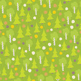 Seamless autumn forest pattern. 