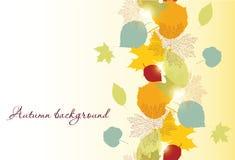 Seamless autumn leafs Royalty Free Stock Photos