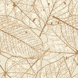 Seamless autumn leaves pattern. plus EPS10 Royalty Free Stock Image