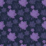 Seamless Autumn pattern Royalty Free Stock Photo