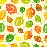 Seamless autumn pattern. Royalty Free Stock Images