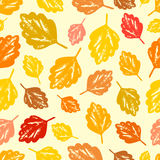 Seamless autumn pattern. Royalty Free Stock Image
