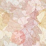 Seamless autumn pattern. Royalty Free Stock Photography