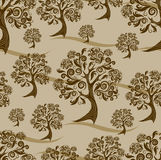 Seamless  autumn pattern. Thanksgiving. (from my big Seamless collection Royalty Free Stock Photo