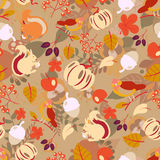 Seamless autumn pattern Royalty Free Stock Photos