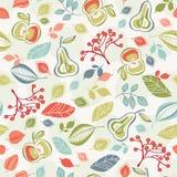Seamless autumn pattern. Vector illustration Vector Illustration