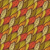 Seamless autumn pattern. Vector illustration Royalty Free Stock Images
