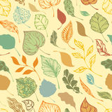 Seamless autumnal pattern Royalty Free Stock Photography