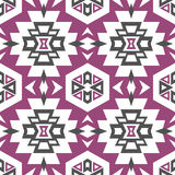 Seamless Aztec pattern stock photos