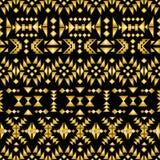 Seamless aztec pattern art deco style, vector illustration. Seamless aztec pattern art deco style Stock Photography