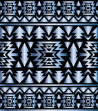 Seamless aztec pattern art deco style Stock Images