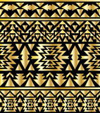 Seamless aztec pattern art deco style Royalty Free Stock Image