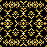 Seamless aztec pattern art deco style Stock Photo