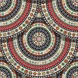 Seamless Aztec pattern Stock Photo