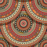 Seamless Aztec pattern Royalty Free Stock Image