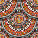 Seamless Aztec pattern Stock Image