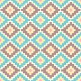 Seamless aztec pattern. Stock Image