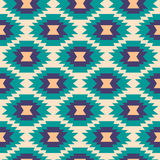 Seamless aztec pattern. Stock Photos