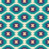 Seamless aztec pattern. Stock Photos